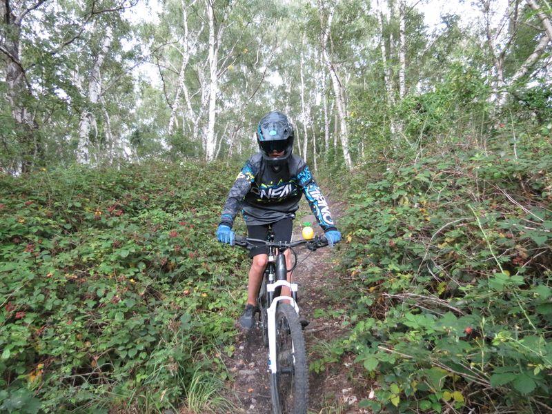 Da geht es ab: Mountain-Biking könnte auf der Halde Sachsen attraktiv gemacht werden, findet die Heessener CDU.
